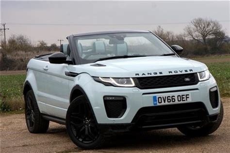 land rover convertible blue land rover range rover evoque convertible 2 0 td4 hse