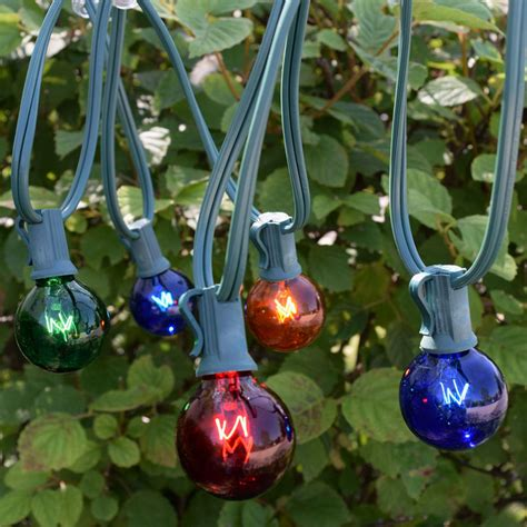 50 string lights 50 multi color globe string lights lights