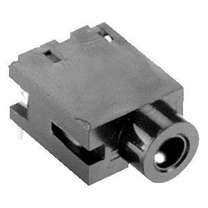 Lasdop Putar Connector Sw 1 1 5 Mm sj 2509n 2 5 mm jacks audio connectors