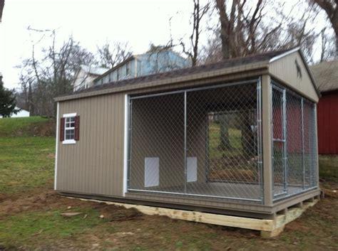 amish built dog houses amish dog kennel dog house kennel pinterest dog kennels amish and dogs