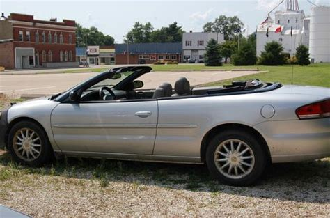 2001 Chrysler Sebring Engine For Sale by Sell Used 2001 Chrysler Sebring Lxi Limited Convertible 2