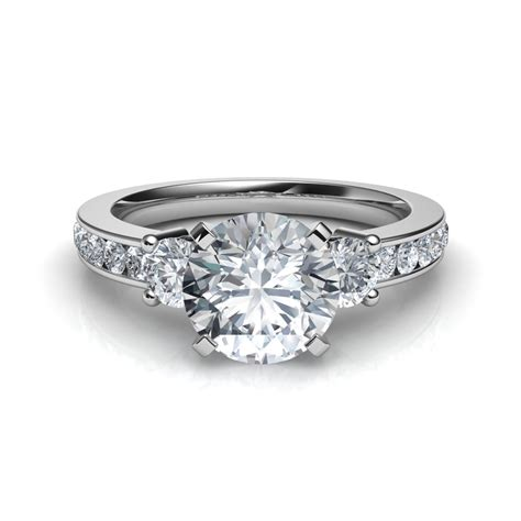 3 Engagement Ring by Trilogy 3 Engagement Ring