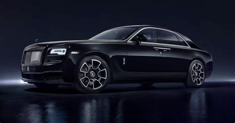 roll royce ghost all black black badge ghost