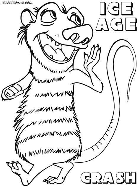 Ice Age Coloring Pages Coloring Pages To Download And Print Age Colouring Pages