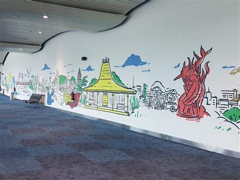 perbedaan mural  graffiti gambar  percantik gang