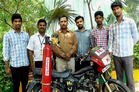 Tambahan Keran Irit Air mahasiswa india kembangkan motor hidrogen irit 148 km liter