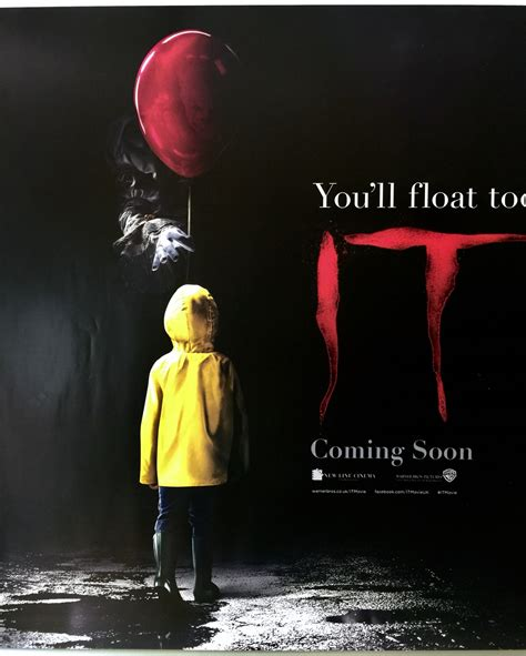 film 2017 it it 2017 teaser uk quad 187 the poster collector