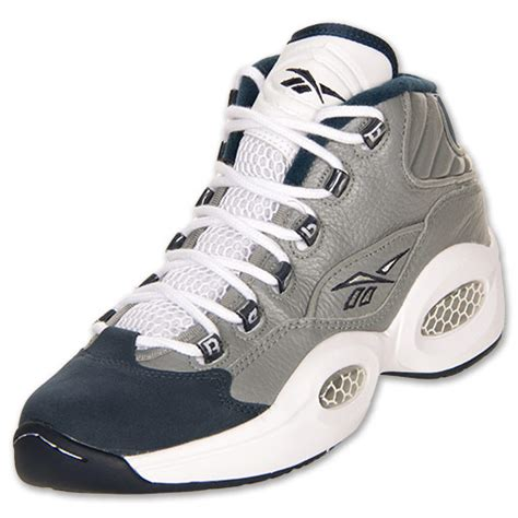 reebok question mid basketball shoes s reebok question mid basketball shoes finishline