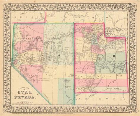 road map of utah and nevada 17 best images about nevada on indian tribes