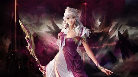 wallpaper game woman fantasy warrior wallpaper and background 1600x900 id