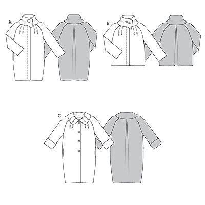 pattern review pattern sales burda 7732 coat sewing pattern