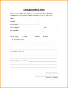 Company Incident Report Sample 12 How To Write An Employee Incident Report Ledger Paper