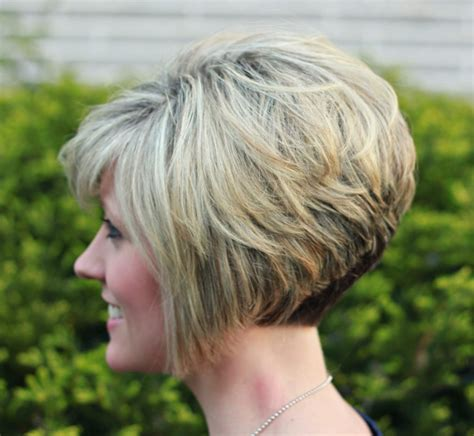 the swing short hairstyle short n the back and long in te frlnt at a angle new women s hairstyles short back view kids hair cuts