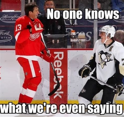 pavel datsyuk meme hey hey hockeytown pinterest