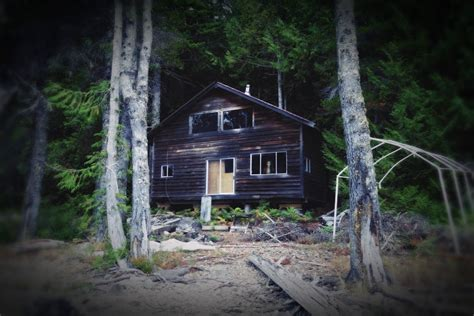 Creepy Cabin In The Woods by Tales From A Pale Blue Dot Cabin