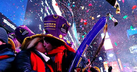 new year 2017 new york times square photos happy new year new york rings in