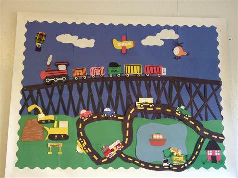 kindergarten themes transportation transportation theme bulletin board may transportation