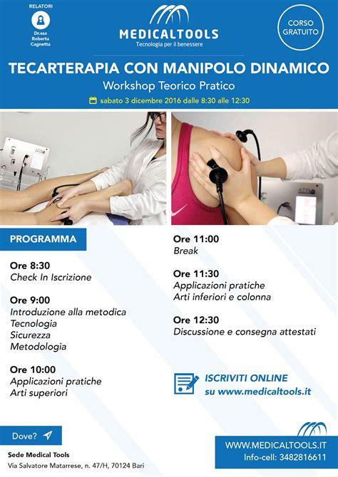 tecarterapia costo per seduta corso tecarterapia con manipolo dinamico workshop