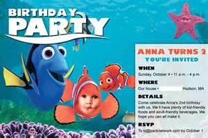 Finding Nemo Invitations Template by Nemo Invitations Template Best Template Collection
