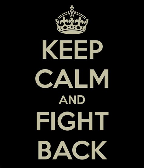 Fight Back are you a fighter how to live a more successful now