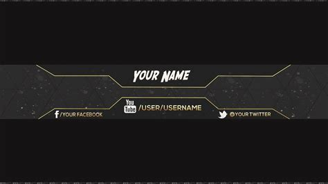 Youtube Banner Wallpaper 90 Images Banner Template 2560x1440