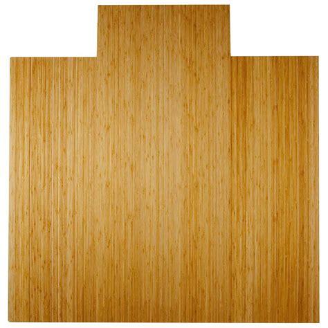 Bamboo Desk Chair Floor Mat by Bamboo Roll Up Office Chair Mat In Chair Mats