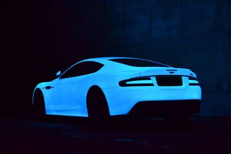 glow in the paint on car glow in the aston martin dbs by nevana designs gearnova