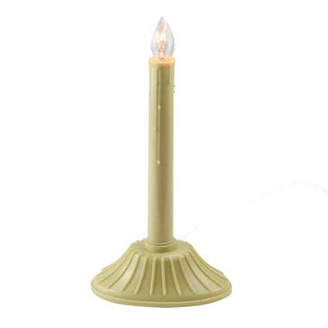 9 5 single light ivory candolier indoor candle l 9 5 quot single yellow ivory candolier indoor candle
