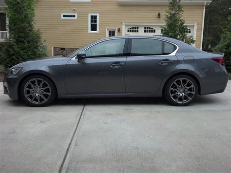 lowered lexus lowered gs350 lux with rs r down springs clublexus