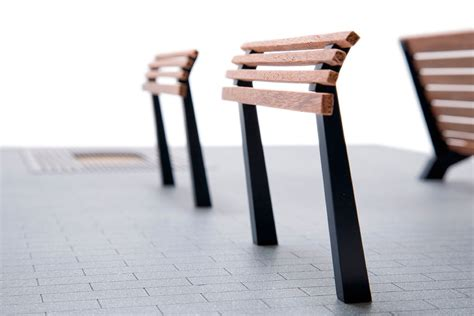 street benches design street furniture rotterdam npk design