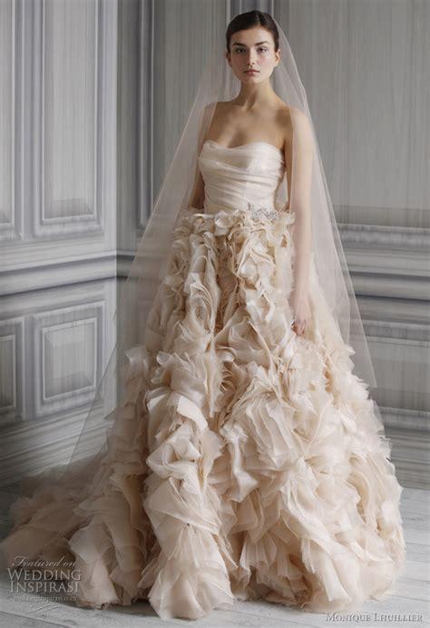 monique lhuillier bridal monique lhuillier wedding dresses spring 2012 bridal