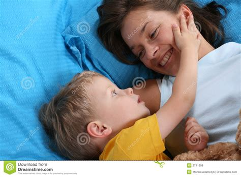 fun in bed fun in bed royalty free stock images image 2741399