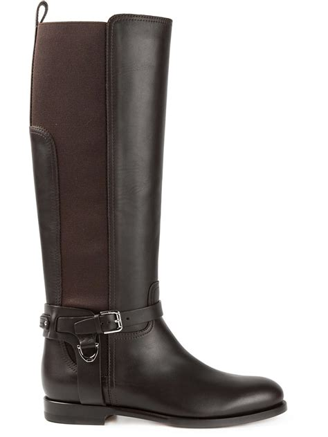 ralph boots ralph sadona style boots in brown lyst