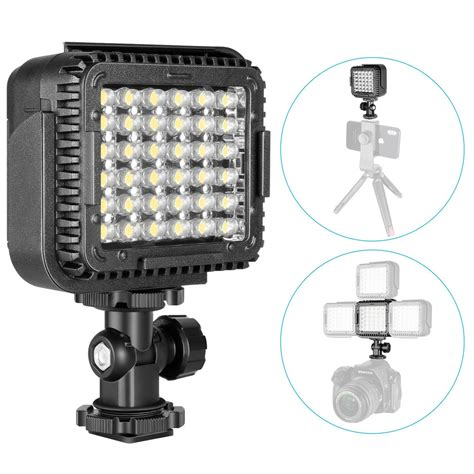 neewer cn lux360 dimmable led light l f canon nikon dv camcorder ebay