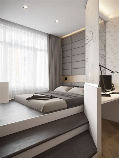 contemporary bedroom design platform bed ideas that will steal the show