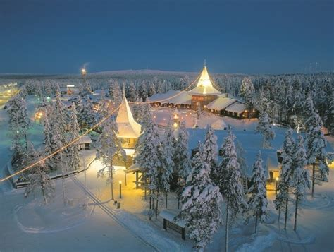 casa di babbo natale finlandia finlandia idee viaggio