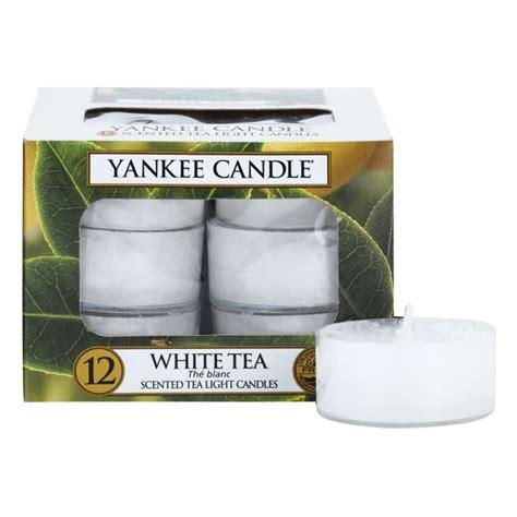 yankee candle tea lights yankee candle tea lights white tea candle 12 pcs