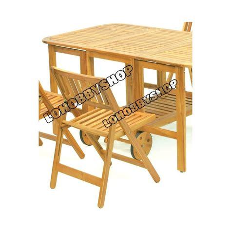 set tavolo giardino set tavolo e sedie da giardino salvaspazio