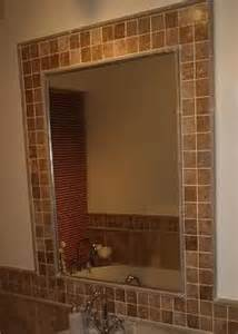 border around bathroom mirror 1000 ideas about mirror border on tile mirror