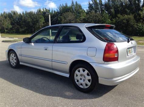 1998 honda civic dx hatchback mpg mileage 133 750