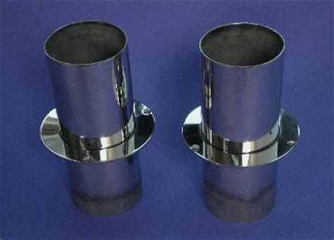 boat transom exhaust tips stainles steel exhaust tips and mufflers for boat transom