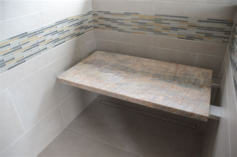 installing granite shower bench ada shower seat dimensions
