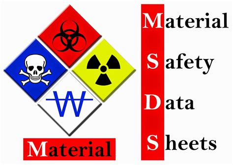 printable msds binder cover sheet material safety data sheet clipart 24