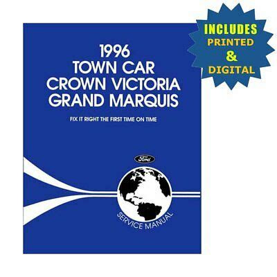 Oem Repair Shop Manuals Cd Boundd Crown Vic Town Car Grand
