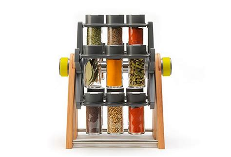 Spice Rack Without Spices Included Ferris Spice Rack Shows Your Spices While Keeping Them