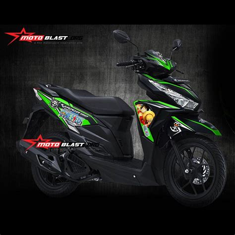 Shockbreaker Vario 125 Original Decal Stiker Honda Vario 125 150esp One Green