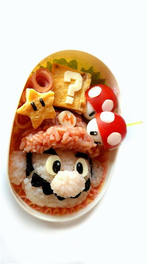 Some Sushi Mario Style With The Mario Bento Boxes by 84 Best Images About Kyaraben Character Bento Sushi On