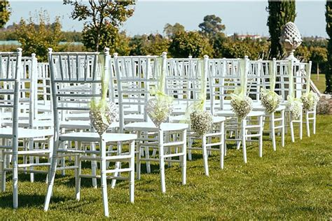 Decorations For Chairs At Wedding Ceremony by Outdoor Wedding Ceremony Decorations Ideas Wedding Chairs