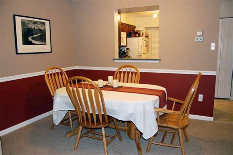 painting dining room with chair rail in style dining room paint color ideas design and