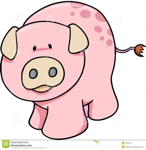 pig clipart 1 royalty free stock illustrations vector cute pig illustration royalty free stock images image